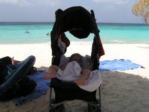 vakantie met baby in curacao