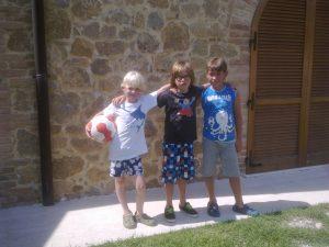 vakantie met leeftijdsgenootjes