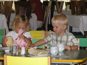 all inclusive kinderen kinderbuffet