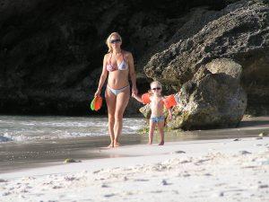 zwanger op vakantie met peuter