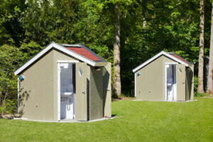 Camping Duinrell Privé sanitair Beukenveld