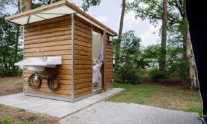 RCN de Flaasbloem kampeerplaats met privé sanitair