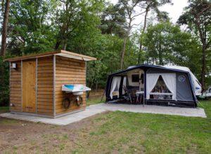 RCN de Roggeberg kampeerplaats met privé sanitair