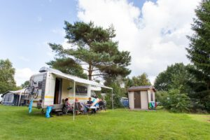 Camping Witterzomer prive sanitair