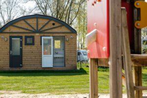 zandstuve camping met prive sanitair