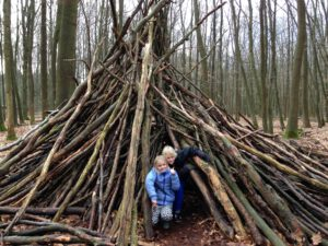 kindercamping nederland in het bos