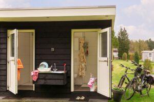 camping met prive sanitair boslust