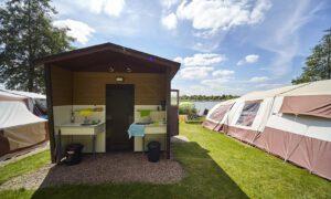 Camping Ter Spegelt met prive sanitair