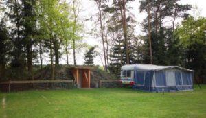 Camping de Paal met prive sanitair