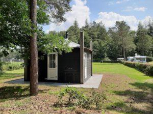 Camping Samoza kampeerplaats met privé sanitair