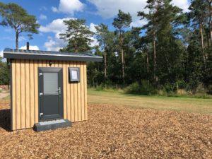 Camping de Haeghehorst kampeerplaatsen met privé sanitair