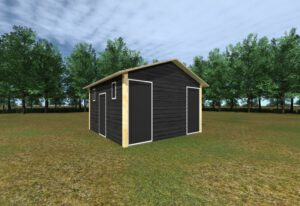 Camping de Zandhegge privé sanitair