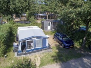 Landal Rabbit Hill kampeerplaats met privé sanitair